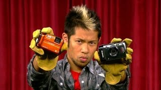 Prizefight - Panasonic Lumix DMC-TS4 vs. the Olympus Tough TG-1 iHS