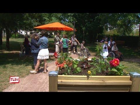 Luçon : l'Olivier aménage un jardin pour ses résidents