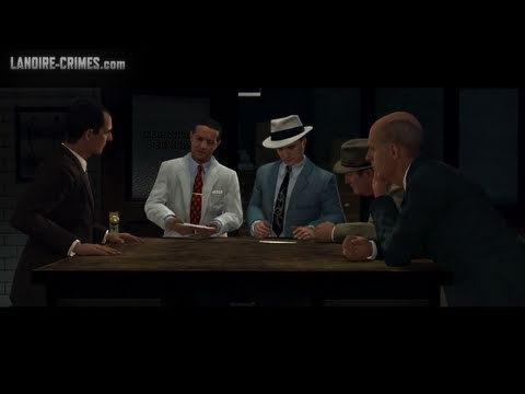 LA Noire - Walkthrough - Mission #13 - The Quarter Moon Murders (5 Star)