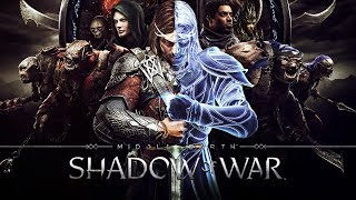 SHADOW OF WAR All Cutscenes (Game Movie) 1080p HD