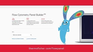 How to use the Invitrogen Flow Cytometry Panel Builder