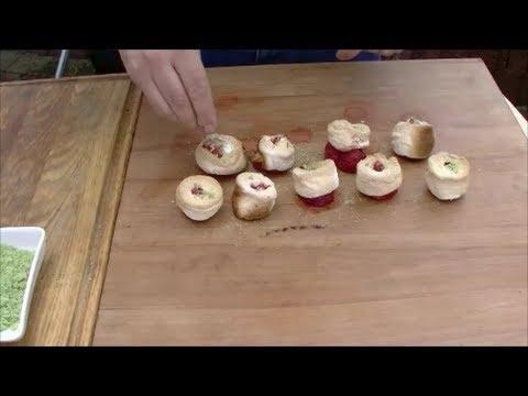 Folge 068: Erdbeeren Im Marshmallow-Mantel Mit Minz-Zucker