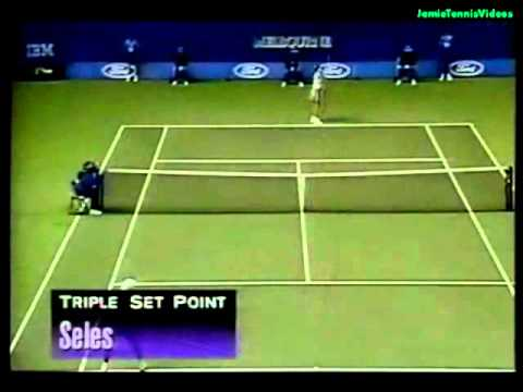 Monica Seles vs Chanda Rubin 1996 Australian Open Semi Final Highlights re-upload. thnx to jayfey77 for the match.