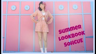 Summer Look Book ft. Sohcue | Crafty Amy