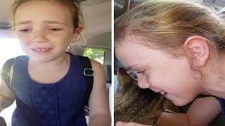 Girls Reunited With Lost Cat