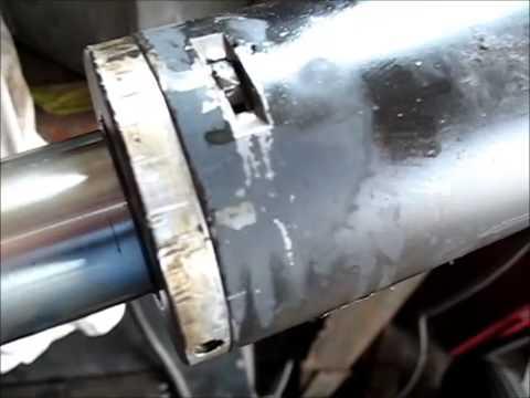 Locking Pin Hydraulic Cylinder Youtube
