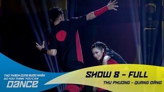 Trò Chơi - Thu Phương & Quang Đăng // Hiphop - Show 8 - Thử Thách Cùng Bước Nhảy 2016