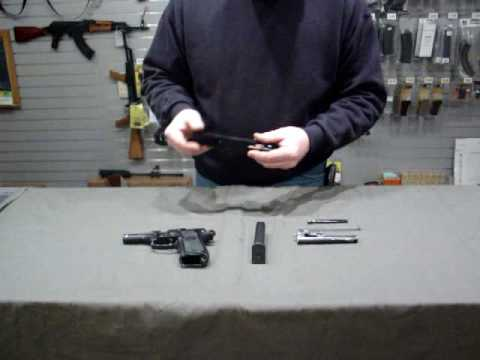 Beretta 92FS disassembly and reassembly