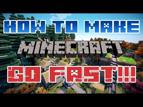 How To Make Your Minecraft Run Faster with Little to No Lag - 3 OPTIONS! - Java. Optifine. and More
