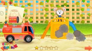 Fire truck ambulance for kids, Fire truck for children, firefighter for baby