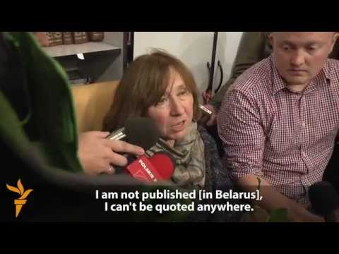 Belarus's Svetlana Alexievich On Receiving Nobel Prize
