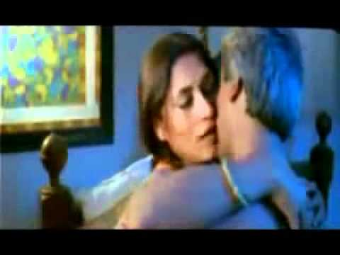Roopa Ganguly kissing passionately