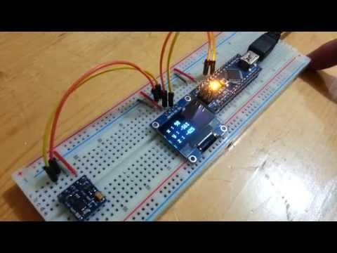 Arduino Nano: I2C 2 X 16 LCD Display With Visuino