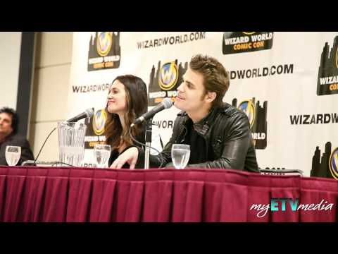 http://myetvmedia.com/?p=3901 myETVmedia had front row seats at the fans Q & A panel at Wizard World Toronto Comic Con 2012 for Vampire Diaries. On the panel were Vampire Diaries stars Paul...