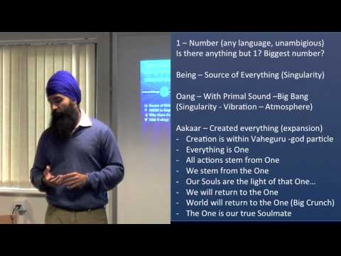 Spiritual Teachings of Sikhism - Oxford University Conference - 1 of 2