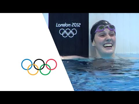 Missy Franklin Breaks 200m Backstroke World Record - London 2012 Olympics