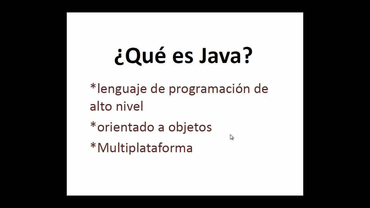 Que es Java y para que sirve.mp4 - YouTube