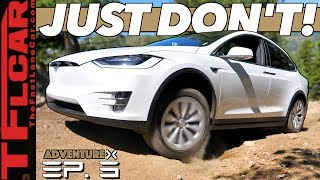 Can a Tesla Go Off-Road Up a Rocky Mountain? We Compare It to an Old-School SUV | Adventure X Ep. 3