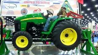 Tractor Rollover Demo @ Kentucky State Fair 08/17/13