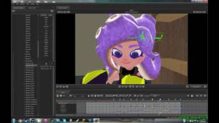 Animating Octoling Hair [SFM Timelapse]