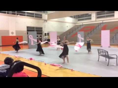 Emmaus High School Color Guard 2014