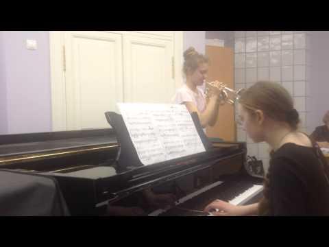 Бах Иоганн Себастьян - BWV  546 - Фуга (2 трубы, тромбон, туба)