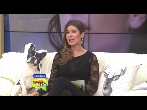 Laura Perico alterna su personaje de Juliana con el rol de ser mamá