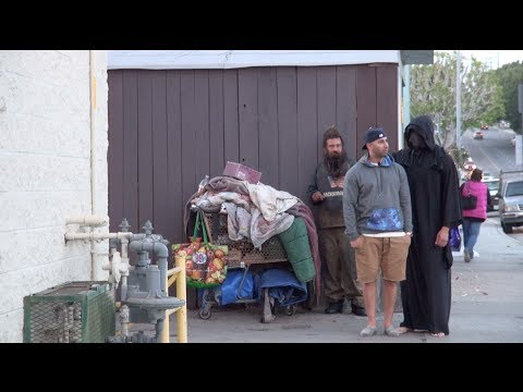 Harry Potter Dementor Prank! video
