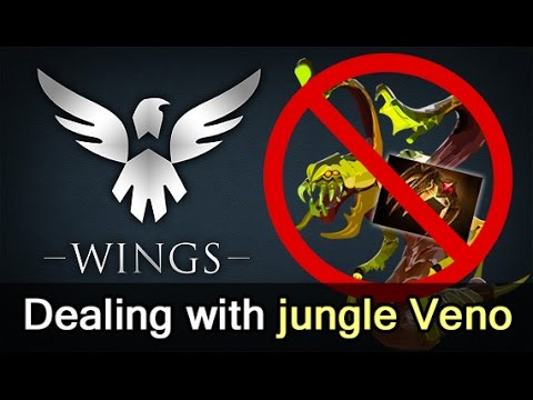 How to deal with jungle Veno — Wings vs EG