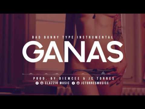 Instrumental Trap Tipo Bad Bunny // GANAS // Clazzik Beats