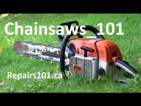 Chainsaws 101 - Safe Operation - What You Need To Know