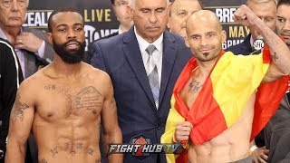 GARY RUSSELL JR VS. KIKO MARTINEZ - FACE TO FACE & FULL WEIGH IN VIDEO