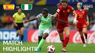 Spain v Nigeria - FIFA U-20 Women's World Cup France 2018 - Match 26
