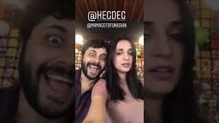 Sanaya Irani New Instagram story and gautam hegde