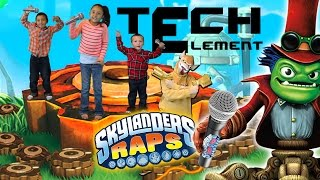 Skylanders Raps: TECH ELEMENT SONG (600th Video w/ Trap Team)