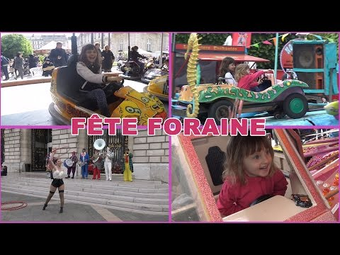 [VLOG] Fête Foraine des Enfants de Levallois près de Paris - Studio Bubble Tea