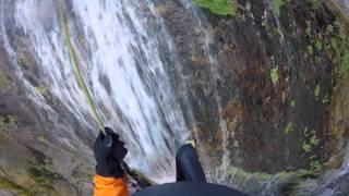 download lagu Rappelling Down 160' Tall Bonita Falls gratis