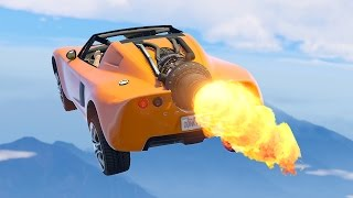 ULTIMATE $5,000,000 ROCKET CAR! (GTA 5 Import & Export DLC)