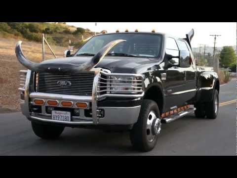 Cowboy Ford F 350 Powerstroke With Bull Horns Amp Redneck