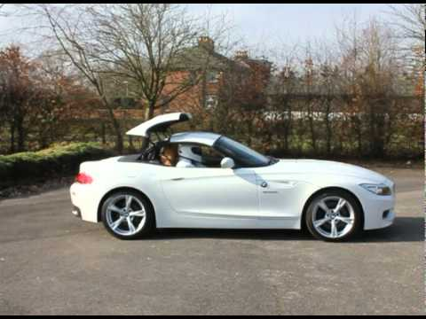 Bmw Z4 3 5 Sdrive Convertible Alpine White Avi Youtube