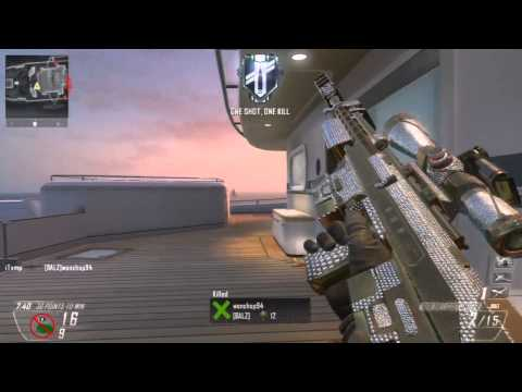 BO2: Awesome Sniping FFA :: What is Playing Claw?