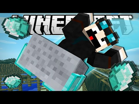 Minecraft   DIAMOND MINECART INFINITE ROLLERCOASTER!!   Custom Command