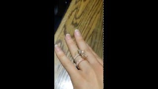 9x7mm Oval Forever Brilliant Moissanite and Diamond Solitaire Engagement Ring in 14k Rose Gold