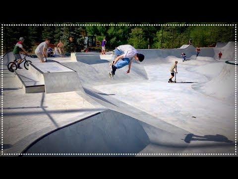 Kevin Klemme New Nashua Skatepark