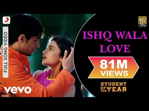 Student Of The Year - Ishq Wala Love Video | Alia Sidharth Varun video