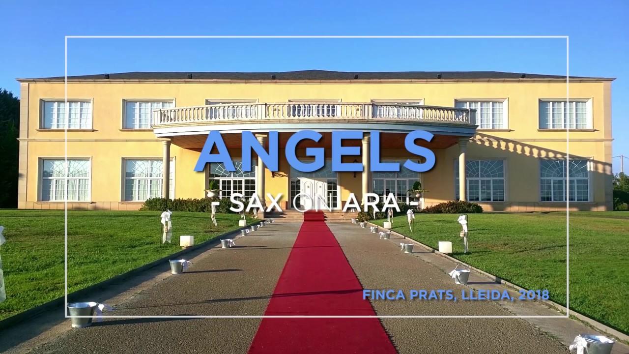 Angels de Robbie Williams por el saxofonista Sax on Ara