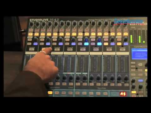 Sweetwater - PreSonus StudioLive 16.4.2 Demo