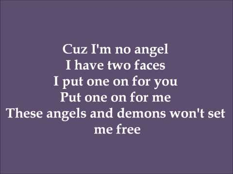 Angels & Demons - Melissa Otero (Dance Moms) - Lyrics