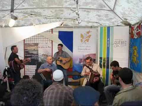 This year, for the first time, there was a French stage at the Newfoundland and Labrador Folk Festival in St. John's. This video shows the Benoit Kitchen Par...