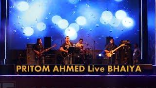 PRITOM AHMED Live Concert  Best Song  ke bhaiya ke chaiya। Video Anik Das